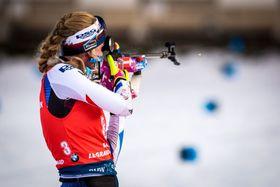 Markéta Davidová (Foto: Archiv der Tschechischen Biathlon-Union)