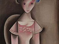 'Girl in Pink' by Josef Capek