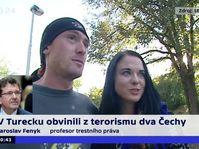 Miroslav Farkaš et Markéta Všelichová, photo: ČT24