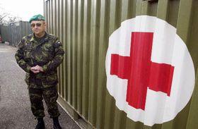Военно-полевой госпиталь, фото ЧТК