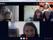Online výuka v České škole Madrid, foto: archiv České školy Madrid