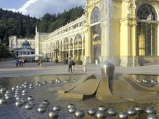 Фонтан в Марианске Лазне (Фото: CzechTourism)