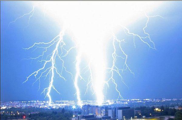 15,000 lightning bolts recorded in one night, photo:  ČHMÚ Plzeň