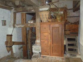 Vodní mlýn vHoslovicích, foto: archiv Muzea středního Pootaví