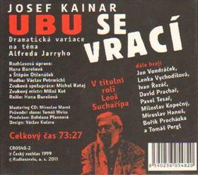 Ubu revient, photo: Český rozhlas / Radioservis