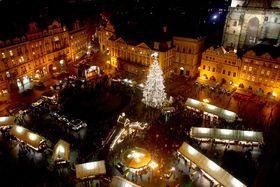 Christmas market on the Old Town Square, photo: Štěpánka Budková