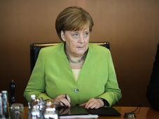 Angela Merkel, ČTK/AP/Markus Schreiber