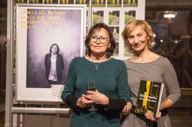 Marta Kubišová et l'éditrice du livre, Naďa Straková, photo: Site officiel du projet Ženy v disentu