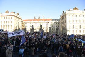 Shromáždění nazvané Proti lži anenávisti, foto: ČTK/Šulová Kateřina