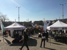 Demonstrierende (Foto: Jana Burczyk)