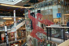 Einkaufszentrum Palladium (Foto: Хомелка, Wikimedia Commons,