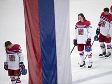 Čeští hokejisté prohráli ve čtvrtfinále mistrovství světa v Paříži s Ruskem 0:3, foto: ČTK