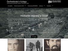 Photo: Le site internet des Tchécoslovaques au goulag