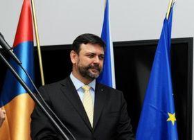 Посол Чехии в Грузии Петр Микыска, фото: Архив Министерствa иностранных дел ЧР