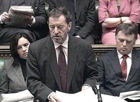 Britischer Innenminister David Blunkett (Foto: CTK)