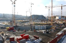 La sala deportiva nueva - construcción, foto: CTK