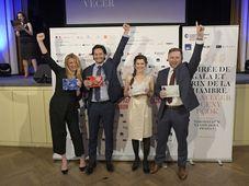 Les vainqueurs du Prix de CCFT, photo: Chambre de commerce franco-tchèque
