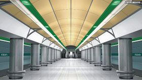 Veleslavín - la línea A del metro