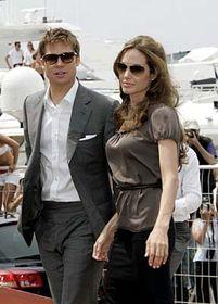 Brad Pitt y Angelina Jolie (Foto: CTK)