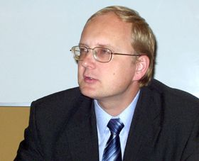 Ministr životního prostředí Libor Ambrozek, foto: Autor