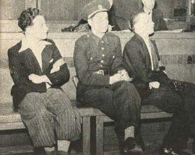 Tribunal con Viliam Gerik y Karel Curda