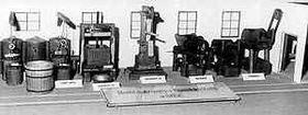 The model of a sugar refinery