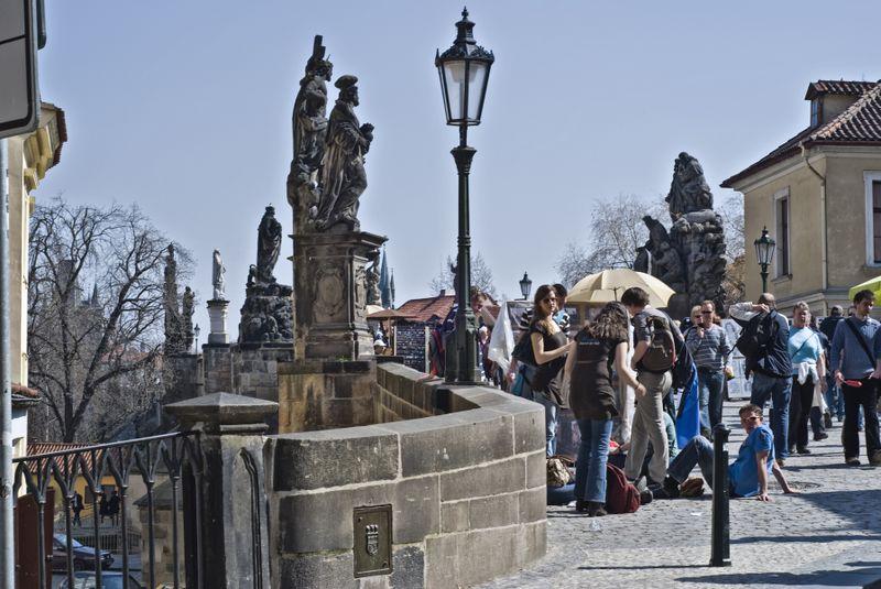 Puente de Carlos en Praga, foto: János Szüdi, Flickr, CC BY 2.0