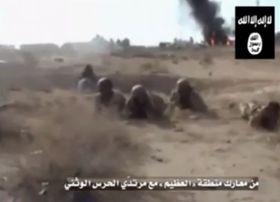 Unos radicales islamistas, foto: YouTube