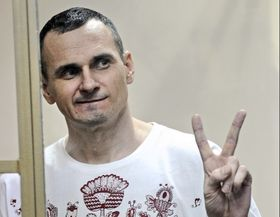 Oleg Sentsov, photo: ČTK/AP/STR