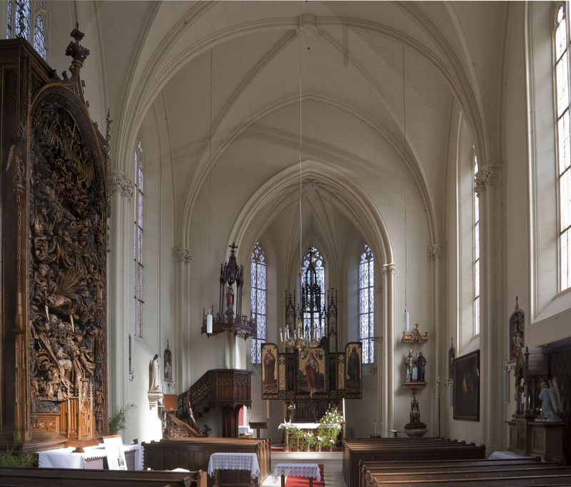 Kirche der hl. Barbara in Adamov (Foto: Kirk, Wikimedia Commons, CC BY-SA 3.0)