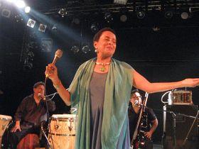 Susana Baca. Crédito de Fotos: G.N.