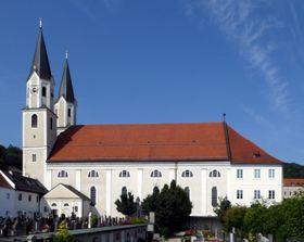 Kirche in Gars am Inn (Foto: Renardo la vulpo, CC BY-SA 4.0)