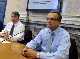 Miroslav Kalousek (right), photo: CTK