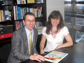Patricia Cmol y Petr Lutter, Foto: cortesía  de Mensajeo