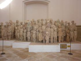 Pomník lidickým dětem od Marie Uchytilové, foto: Zdeňka Kuchyňová