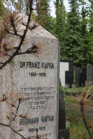 Kafkas Grab in Prag