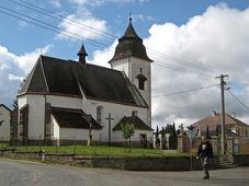L'église de Čihošť, photo: Tomáš Vodňanský / ČRo