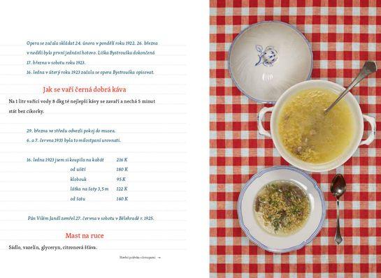 Ukázka z knihy Mářina kuchařka, zdroj: archiv TIC Brno