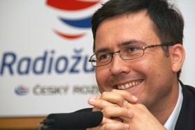 Jiří Hošek, foto: Alžběta Švarcová, ČRo