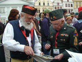 George Thompson (right), foto: Martina Schneibergová