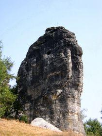 Januskopf in den Tyssaer Wänden (Foto: Bali70, Wikimedia Commons, Public Domain)