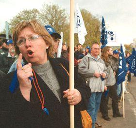 Strike, photo: CTK