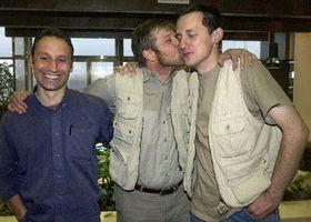 Vit Pohanka, Petr Klima and Michal Kubal back in Czech Republic, photo: CTK
