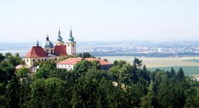 Svatý Kopeček Olomouc, foto: Vyty77, CC BY 3.0