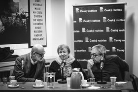 Ян Румл, Петрушка Шустрова и Зденек Барта, фото: Войтех Гавлик, ЧРо