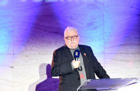 бывший президент Польши Лех Валенса, фото: Михаэла Данэлова, ЧРо