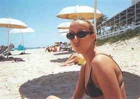 Linda en la playa, foto: Archivo de Radio Praga