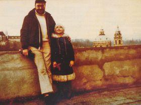 Pavel Vošický with his daughter Lenka in 1976, photo: archive of Pavel Vošický
