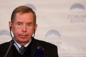 Вацлав Гавел (Фото: Томаш Адамец, Чешскоеэ радио)