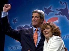 John Kerry a jeho manželka Teresa (Foto: ČTK)